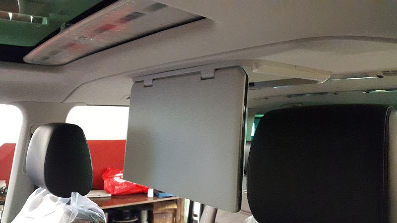 Multivan T6 roof monitor